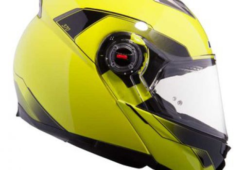 LS2 FF370 SHADOW gloss yellow