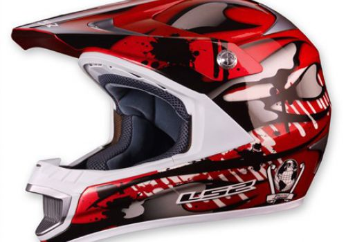 LS2 MX442 Magma, gloss red ,blue, white